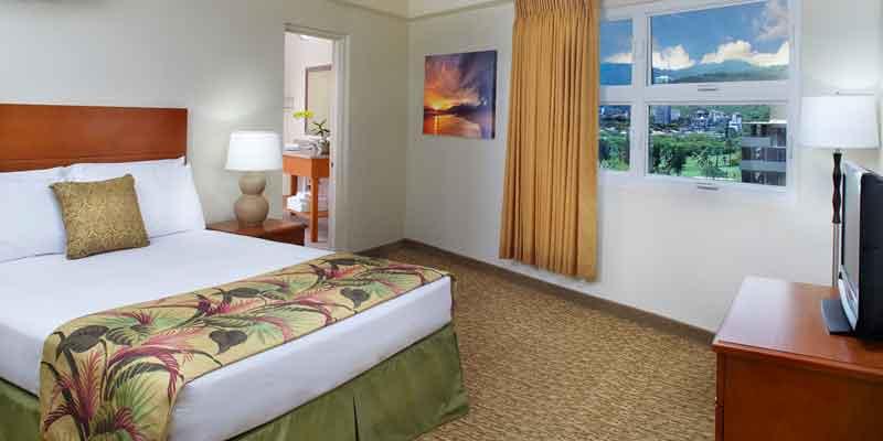 킹 침대 1개  객실